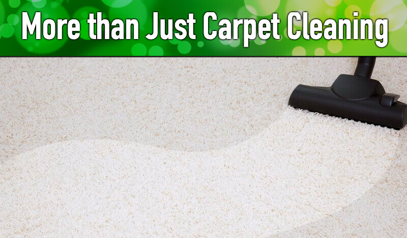 More than Just Carpet Cleaning in Peoria IL & Bloomington IL