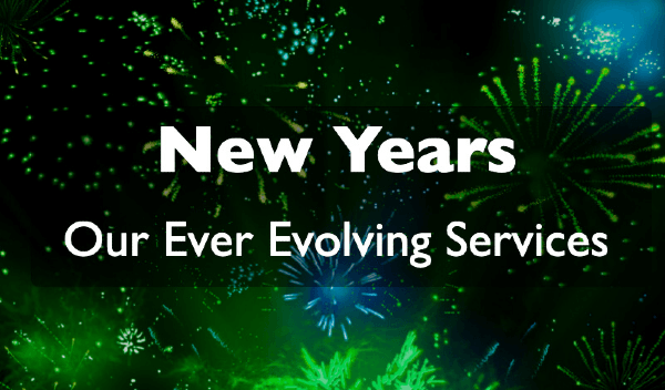 New Years: Our Ever Evolving Services in Peoria IL & Bloomington IL