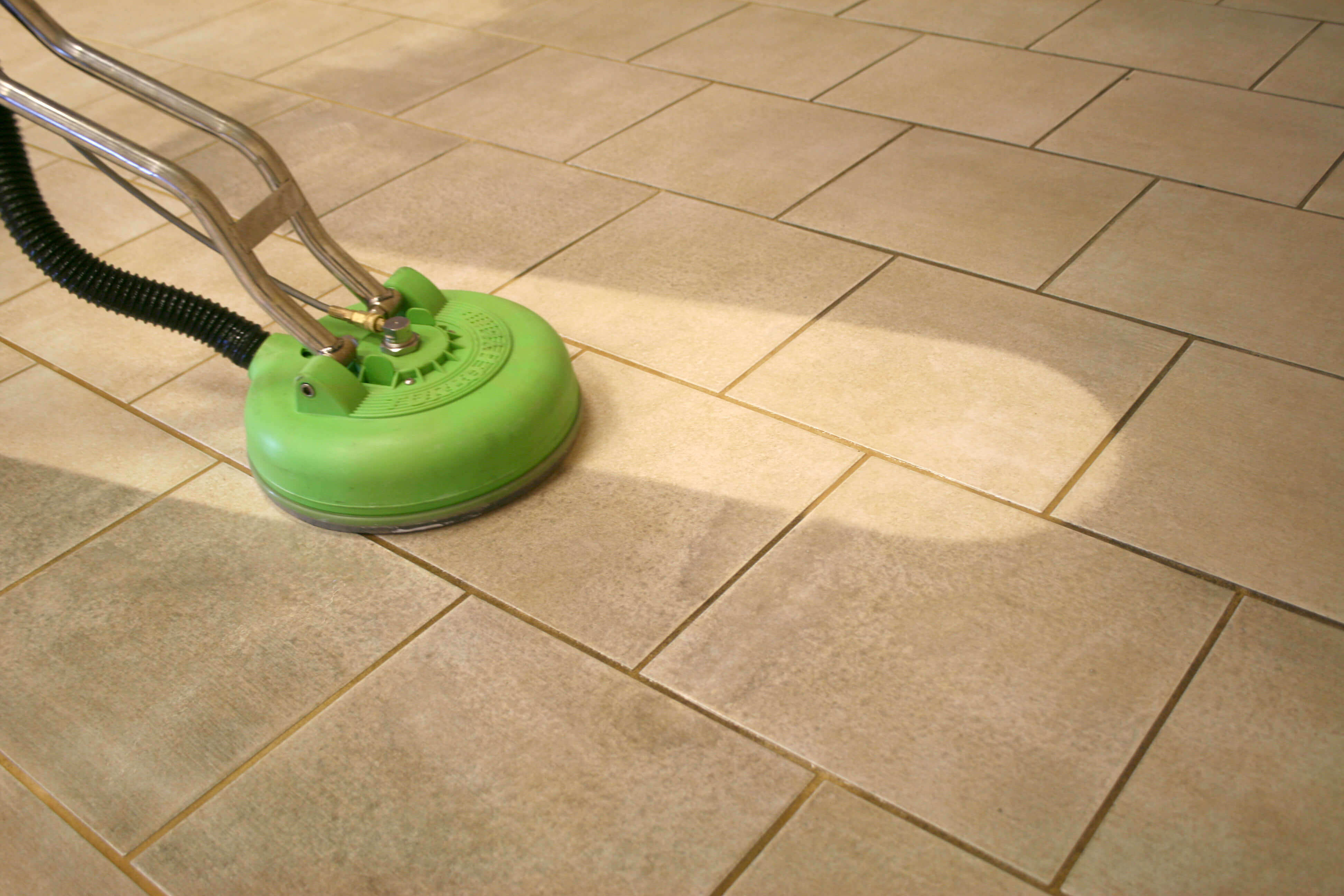 Tile And Grout Cleaning Process